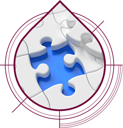 puzzle piece logo icon